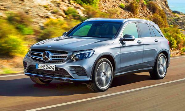 Mercedes представил новый кроссовер GLC