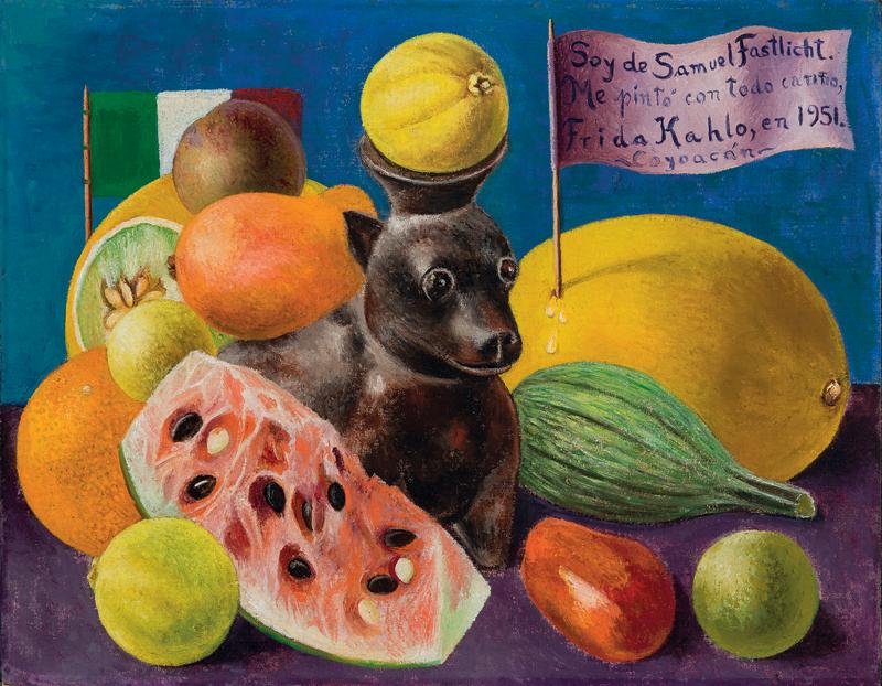 Фрида Кало. «Я принадлежу Самуэлю Фастлихту», 1951.