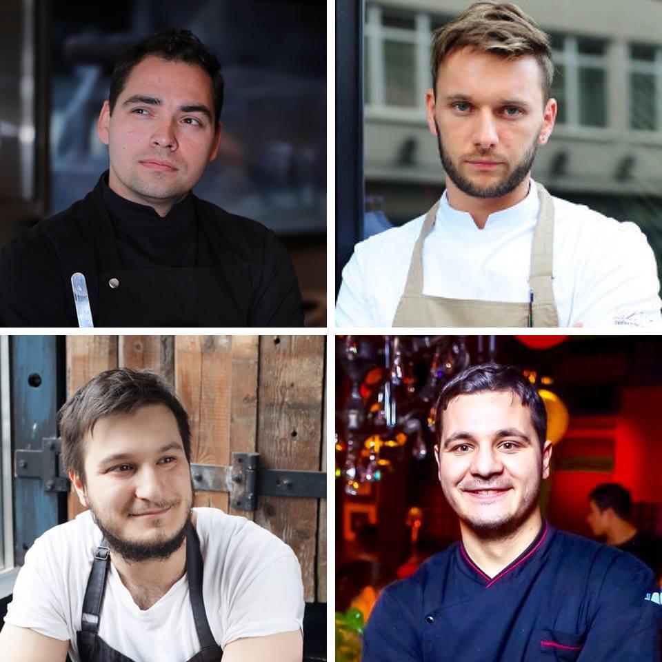 Анатолий Казаков, Антон Ковальков, Георгий Троян и Павел Дзюбло