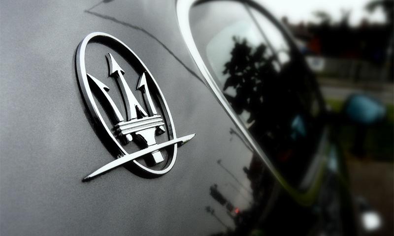 Внедорожник Maserati остался без двигателя Ferrari