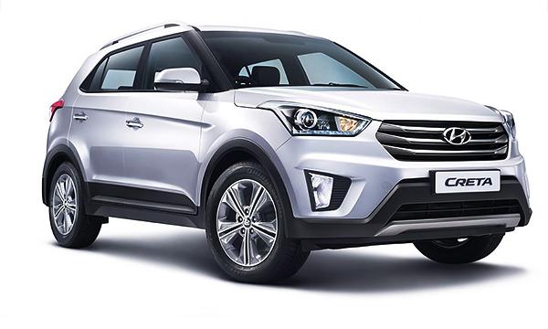 Hyundai рассекретил новый кроссовер Creta
