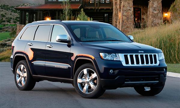 В России отзовут более 6 тысяч Jeep Grand Cherokee