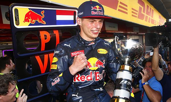 Макс Ферстаппен стал самым молодым победителем этапа Формулы-1