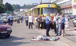 Более половины жертв ДТП в Москве составляют пешеходы