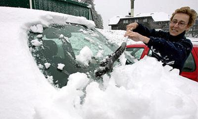 Законопроект об ужесточении штрафов за сброс снега во дворах принят в первом чтении