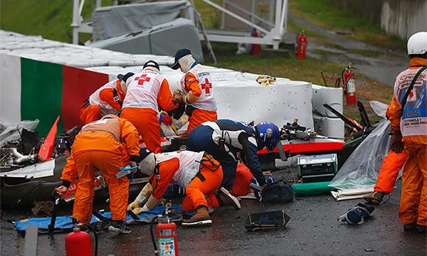 Названа причина аварии гонщика Жюля Бьянки