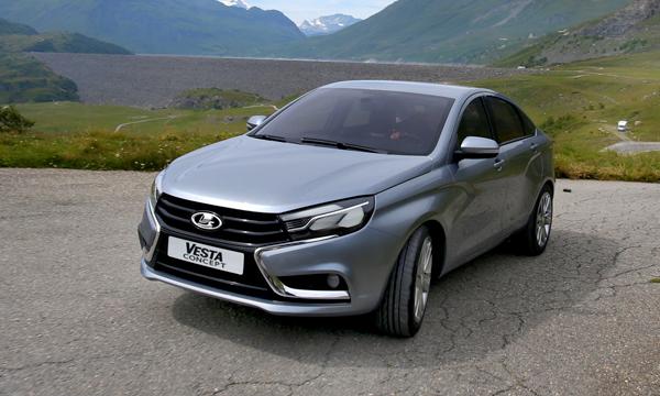 Lada Vesta получит мотор от Renault-Nissan
