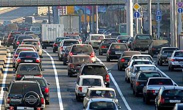 Уровень автомобилизации России составляет 230 машин на 1000 человек