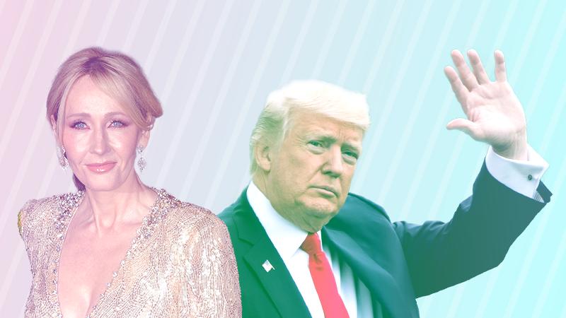 Джоан Роулинг иДональд Трамп