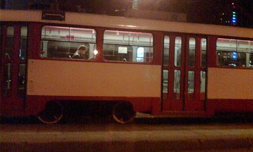 На шоссе Энтузиастов столкнулись два трамвая