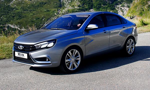 Названа стоимость седана Lada Vesta