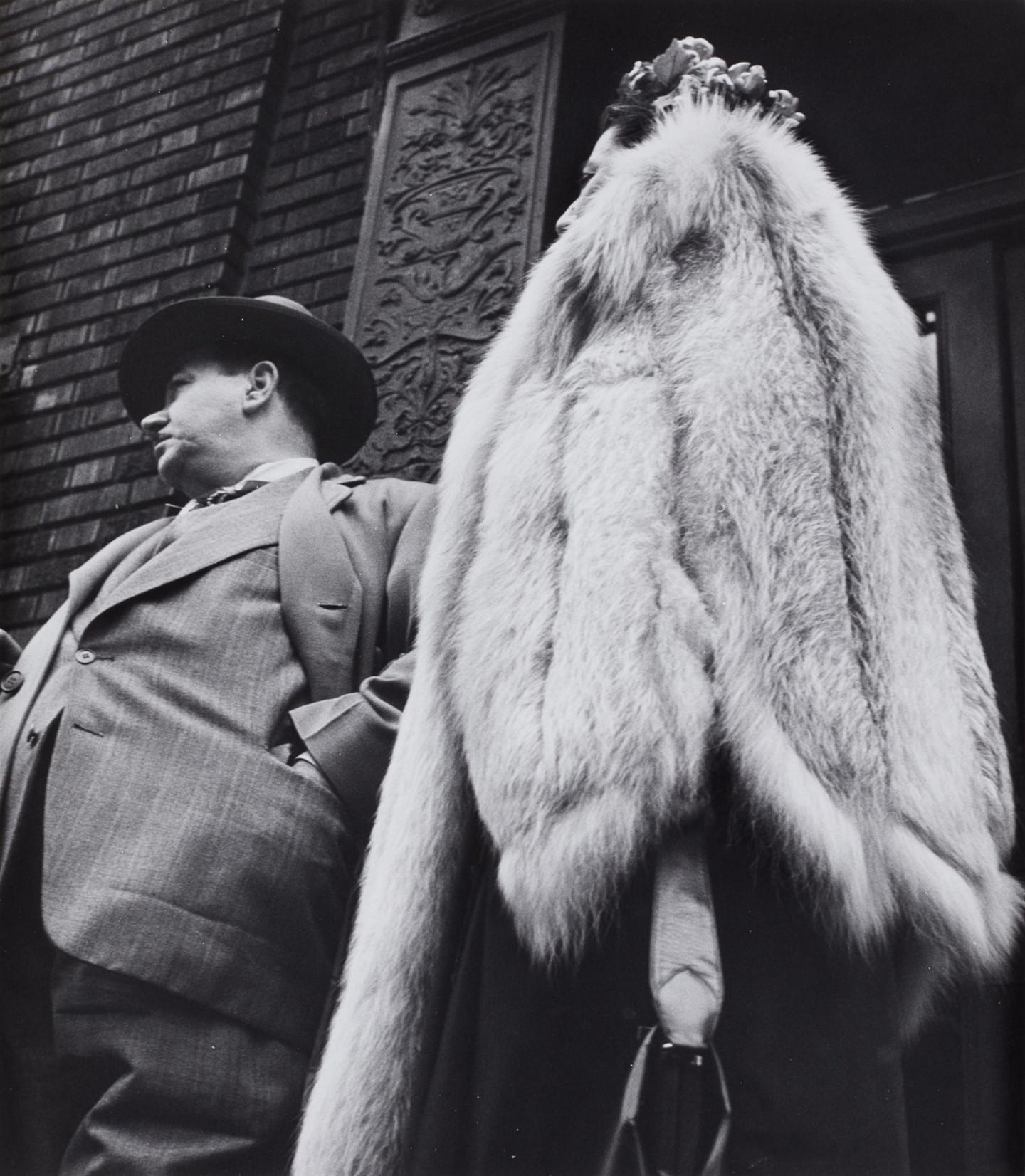 Leon Levinstein. New York City, 1954