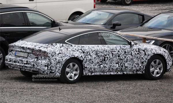Обновленная Audi A7 получит матричную оптику