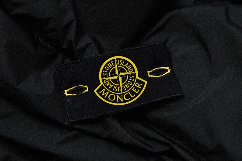 Совместный логотип Moncler и Stone Island