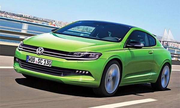 Volkswagen представит новый Scirocco к 2015 году