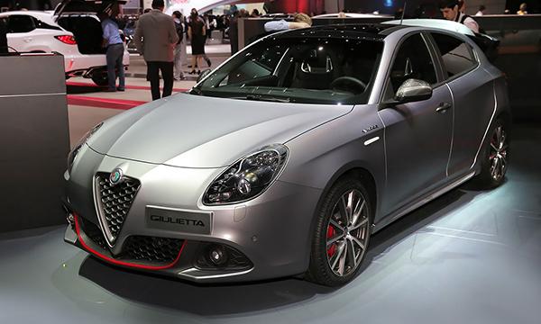 Alfa Romeo обновила хэтчбек Giulietta