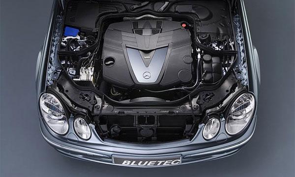 Двигатель E320 Bluetec от Mercedes-Benz