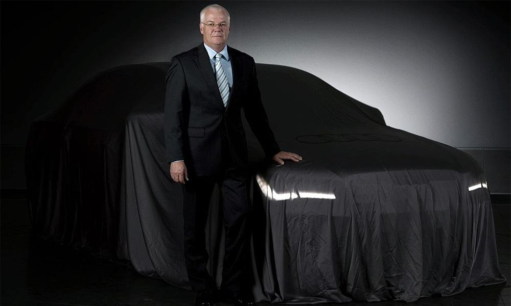 Опубликован первый тизер Audi A8 2010 года