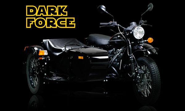 «Урал» выпустил мотоцикл для фанатов фильма «Звездные войны» :: Autonews
