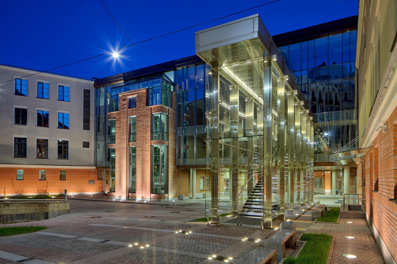 Здание новой сцены Александрийского театра
