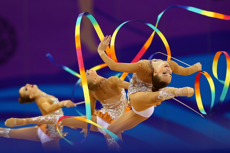 Сборная России по художественной гимнастике на Европейских играх в Баку, 2015
