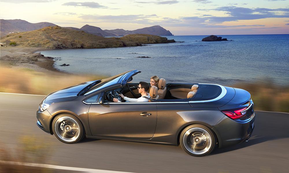 Больше гламура для среднего класса: кабриолет Opel Cascada