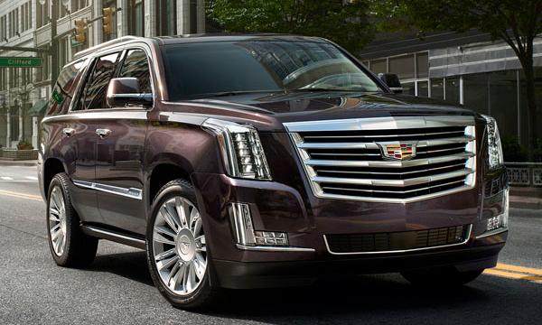 Cadillac представил топовую версию внедорожника Escalade