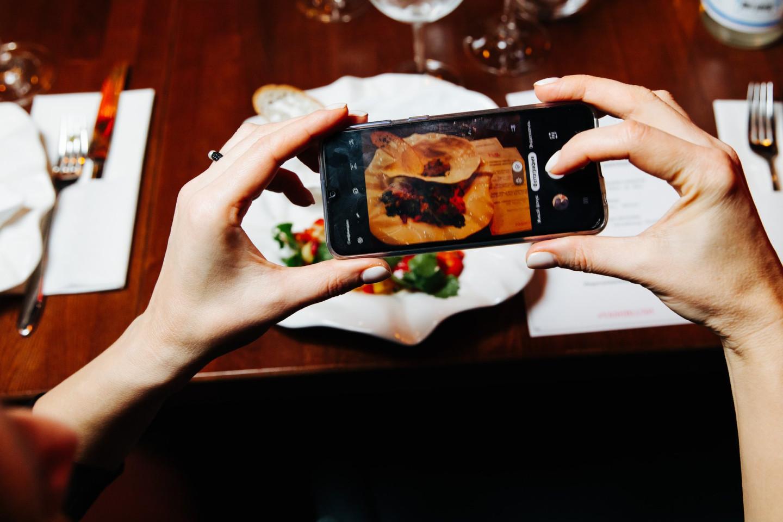 Ужин из четырех подач от шеф-повара Андрея Колодяжного с винным пейрингом