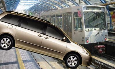 В Лос-Анджелесе пикап упал на рельсы метро, 3 человека погибло