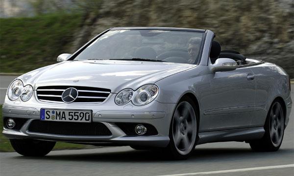 Новый Mercedes-Benz CLK 500/550 получил двигатель V8