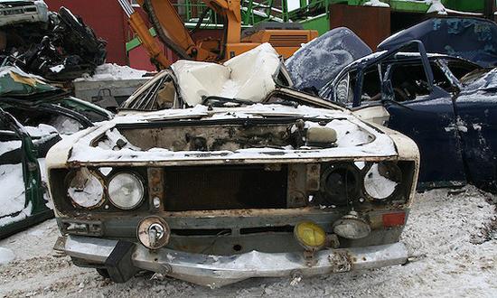 Программа утилизации старых автомобилей завершена