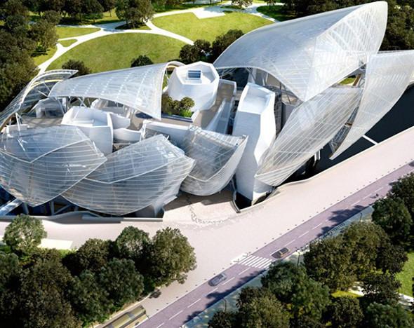 6e94a0350c0d Фрэнк Гери создал дизайн для фонда Louis Vuitton в Париже :: Впечатления ::  РБК.Стиль