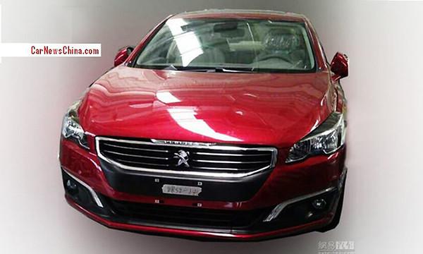 В Китае сфотографировали новый Peugeot 508