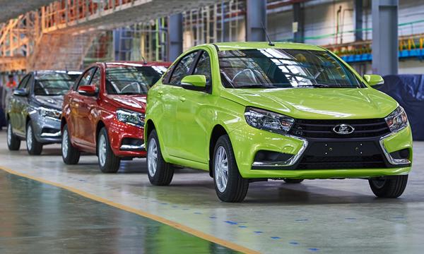АвтоВАЗ будет продавать Lada Vesta в Германии и Италии