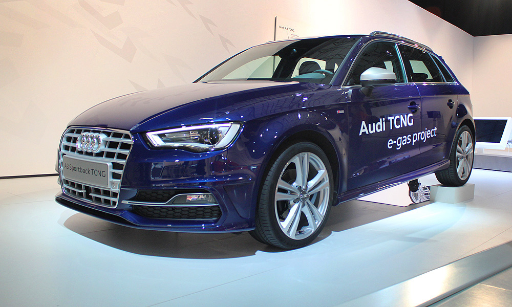 У новой Audi аппетит манекенщицы