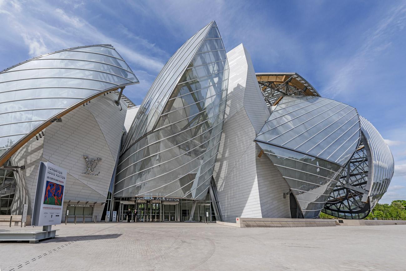 The Louis Vuitton Foundation, Paris.