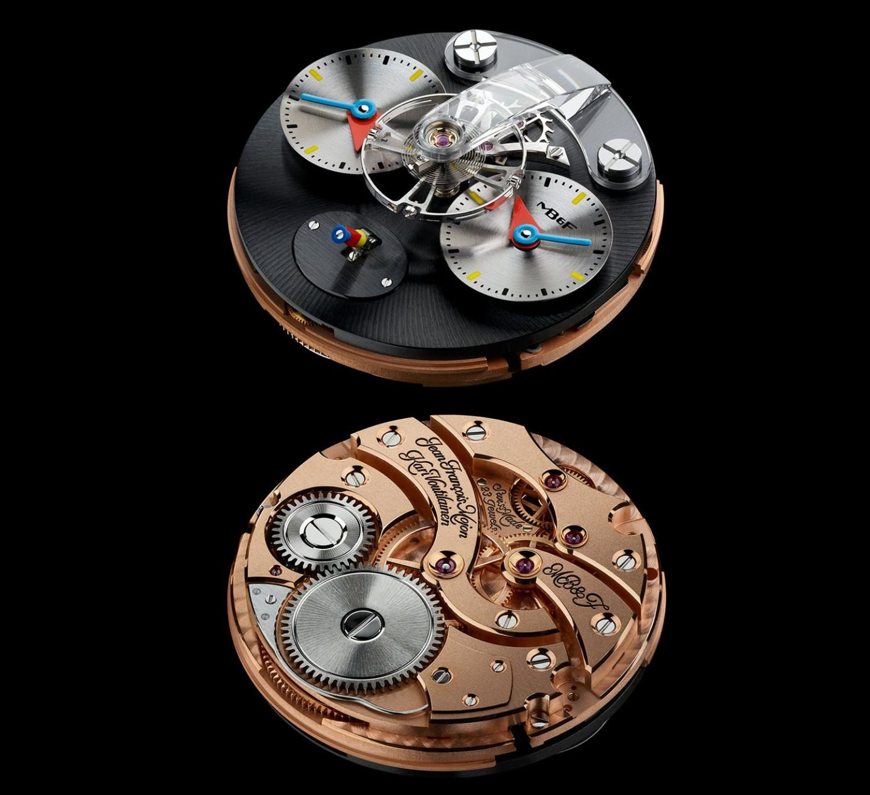 Калибр часов Legacy Machine 1 Silberstein, Alain Silberstein for MB&F