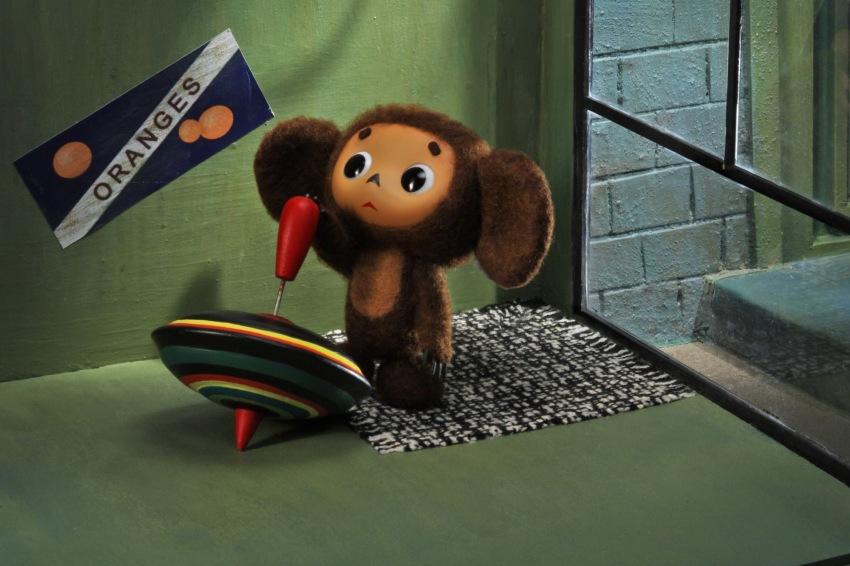 Кадр из анимационного фильма «Чебурашка», Япония