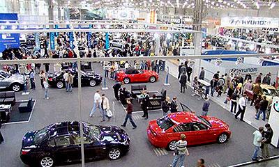 Интеравто 2005 в выставочном центре Крокус Экспо