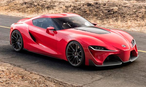 Toyota разработает преемника Supra совместно c BMW
