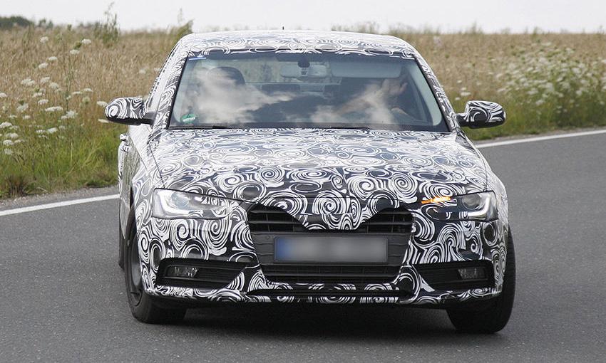 Обновленная Audi А4. Первые фото