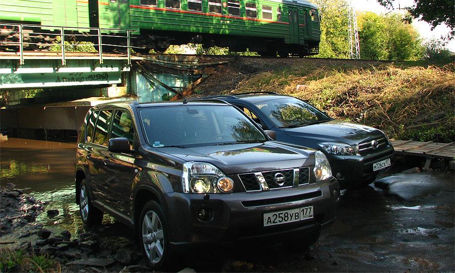 Nissan X-Trail и Toyota RAV4 – остаться должен один