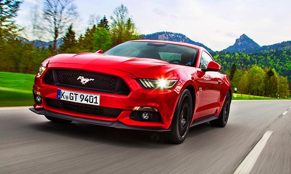 Символ Америки. Тест-драйв Ford Mustang