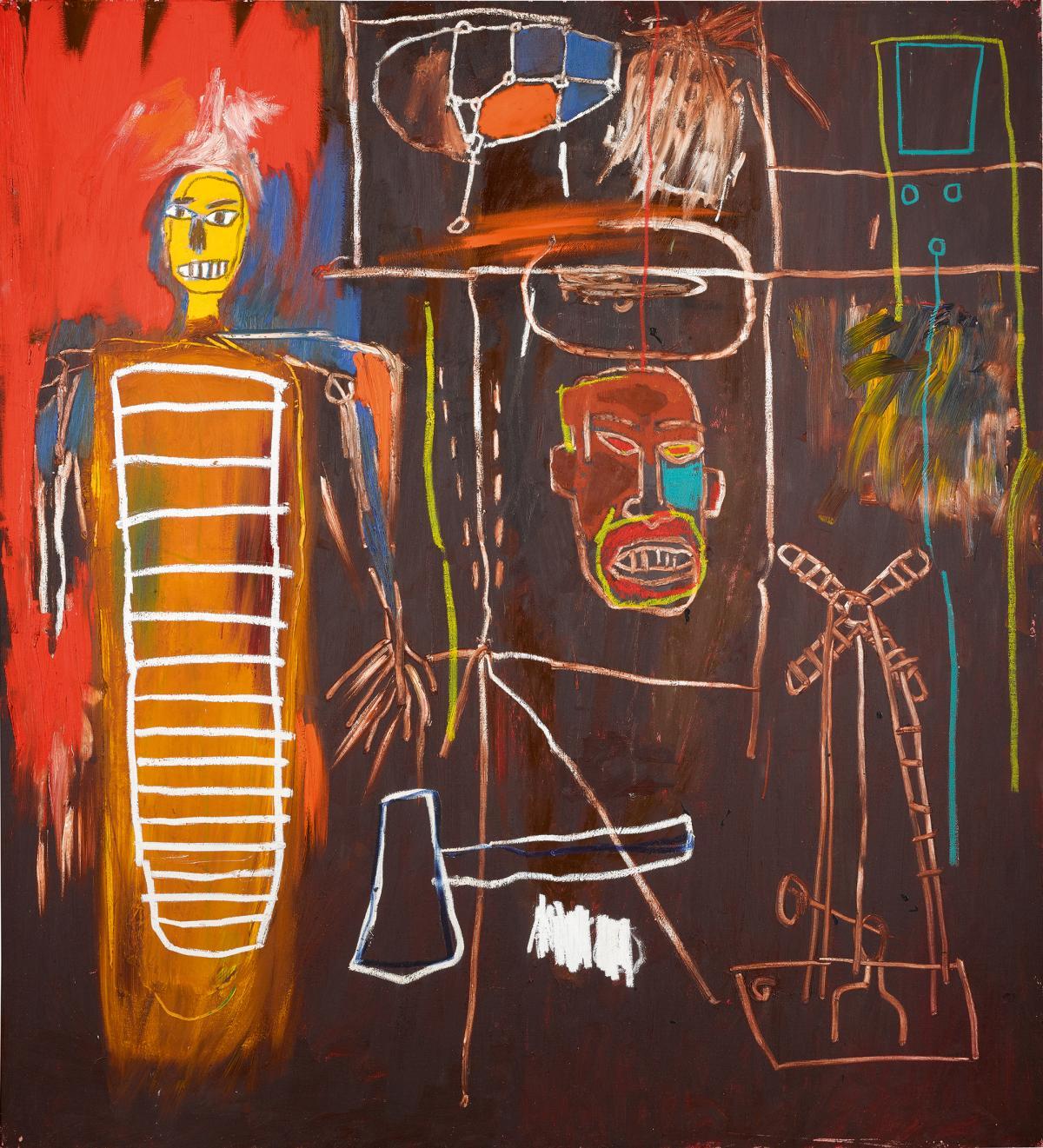 Жан-Мишель Баския. «Сила воздуха», 1984