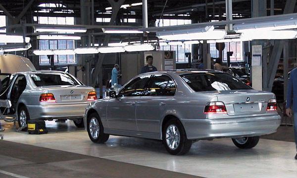 В Калининграде соберут двадцатитысячный российский BMW