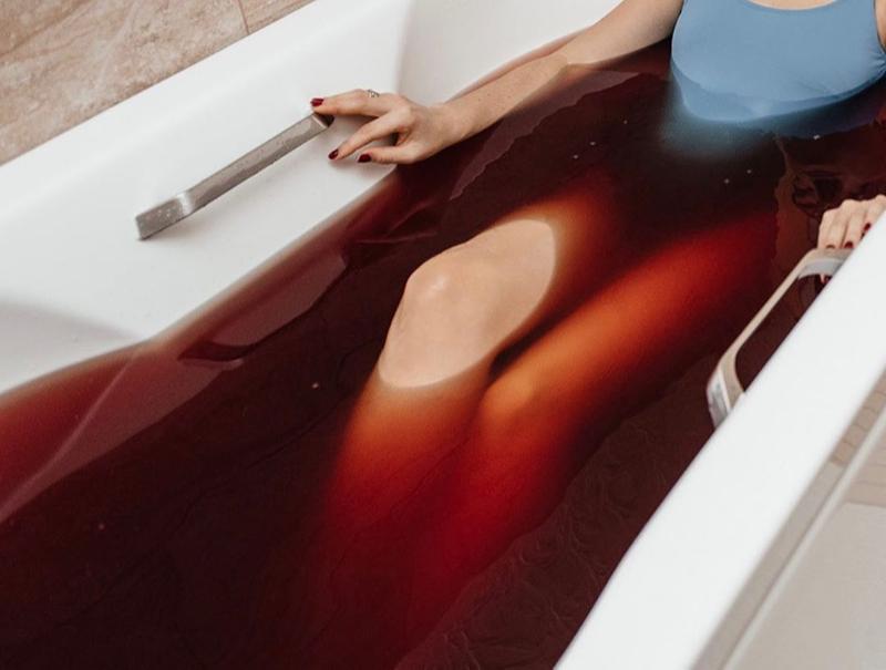 Пантовая ванна из рогов марала