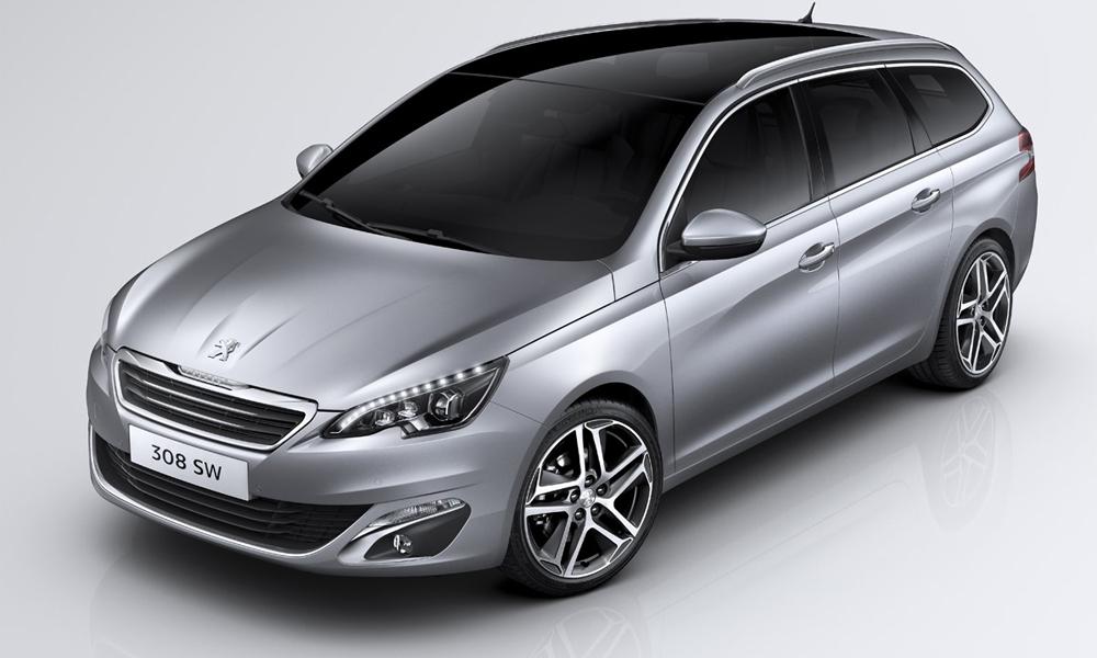 Универсал Peugeot 308 стал легче и вместительнее предшественника