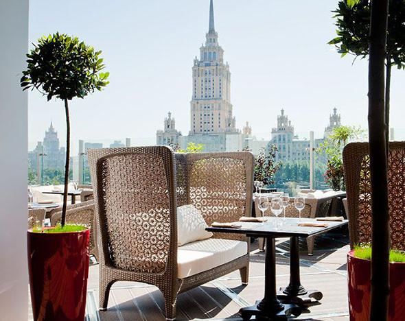 В Москве начинается сезон летних террас