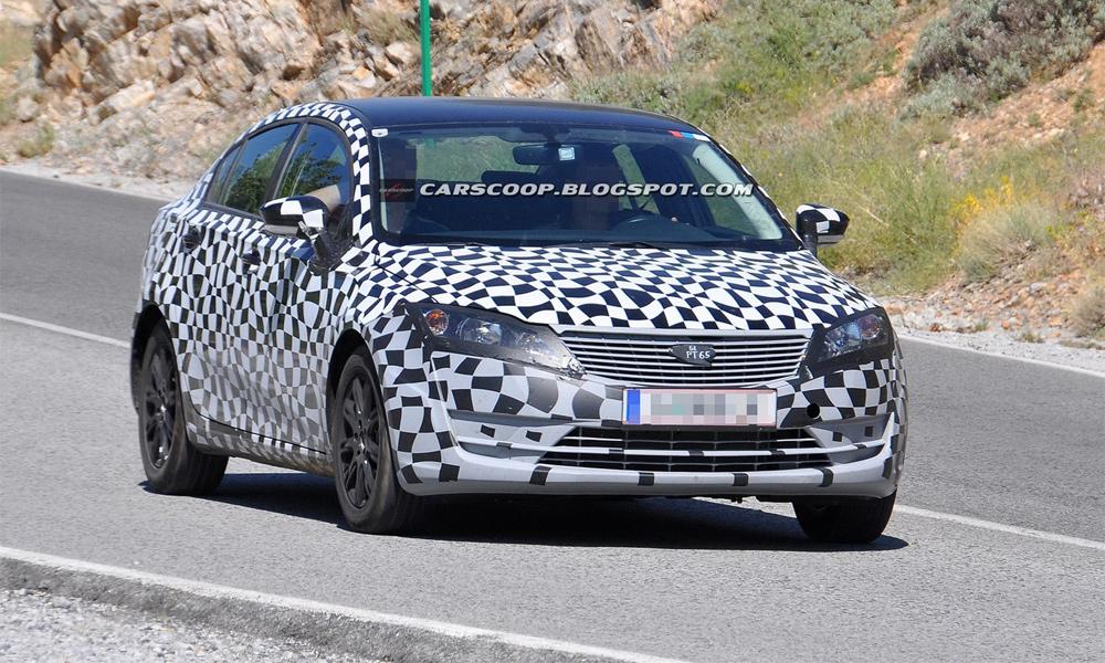 Новый производитель Qoros тестирует первый бюджетный седан
