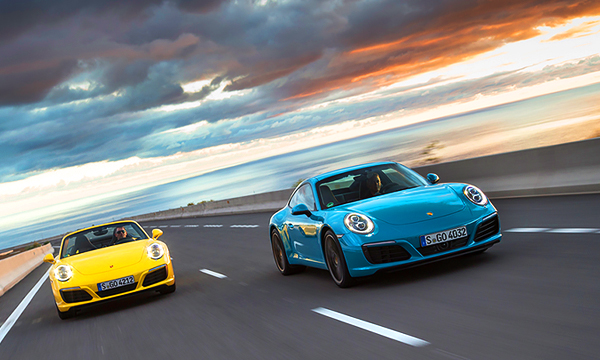 Застывшее цунами. Тест-драйв Porsche 911 Carrera